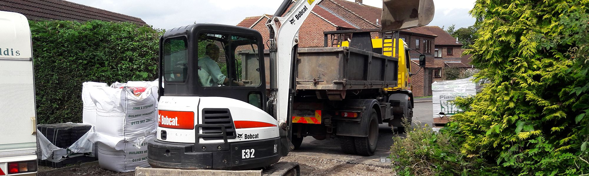 Digger & Lorry Hire Nottingham